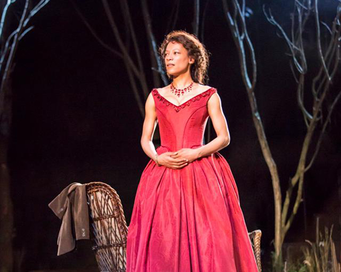 Nina Sosanya as Anna Petrovna. Photo by Johan Persson