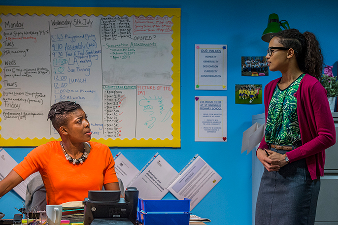 JSchool Play at Southwark Playhouse Ann Ogbomo (Jo) Credit Guy Bell