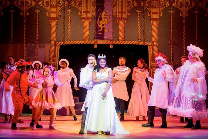 Alexia Khadime as Sleeping Beauty in Hackney Empires Sleeping Beauty Credit Bob Workman