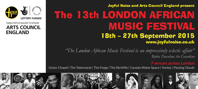 13th London African Music Festival 2015