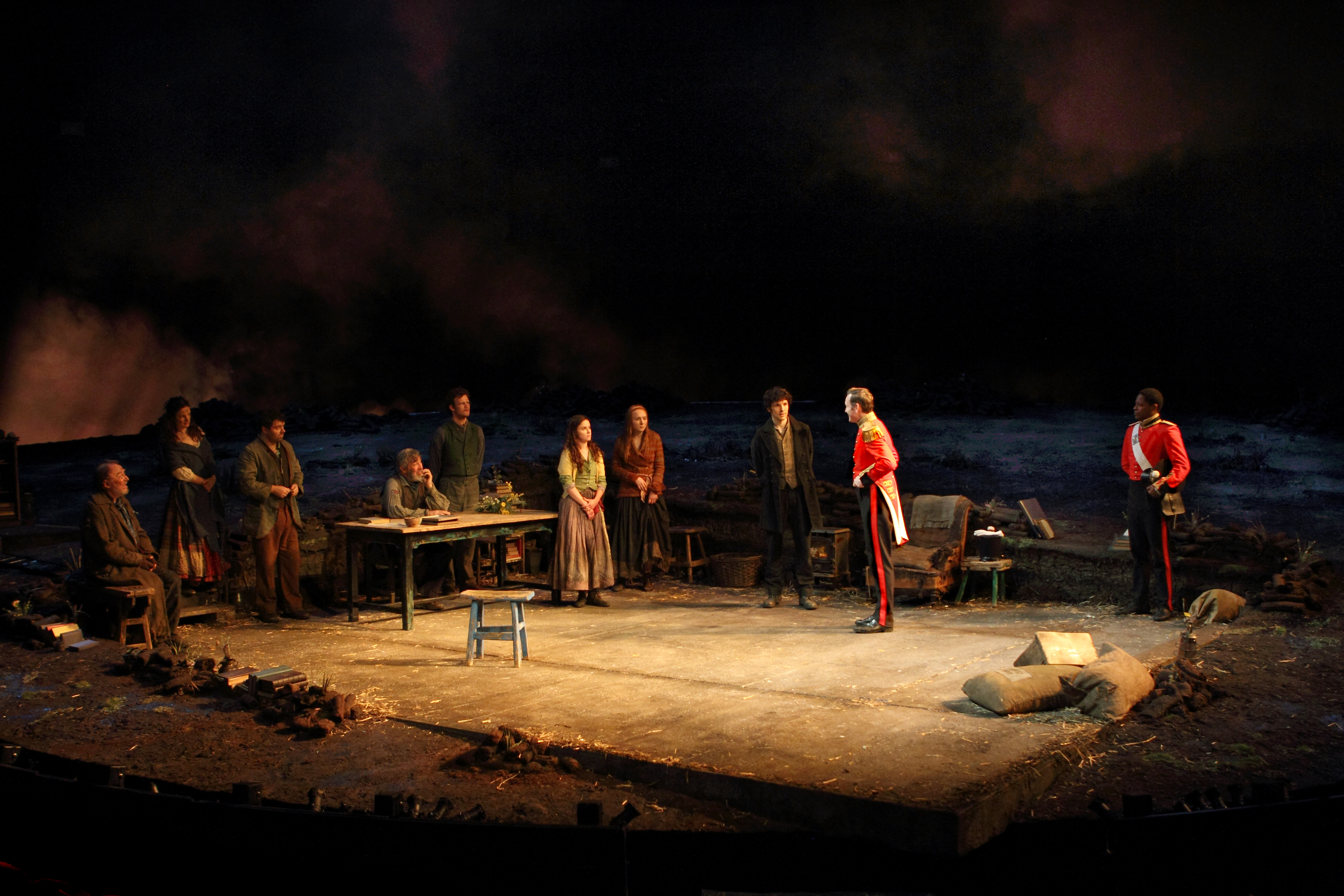 A scene from Translations. Photo by Catherine Ashmore