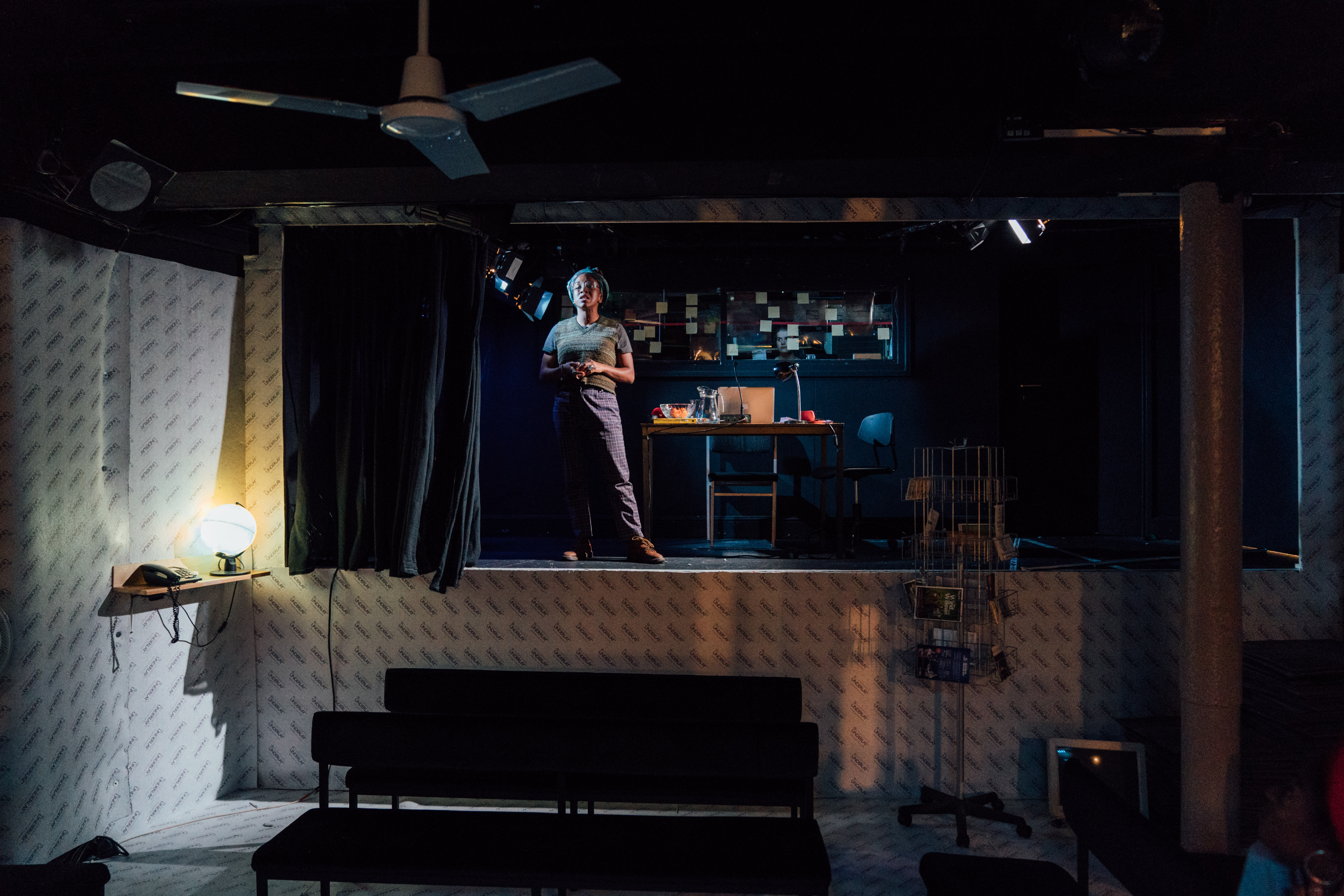 Cherrelle Skeete in 'A Small Place' at the Gate Theatre [Photo by Helen Murray]