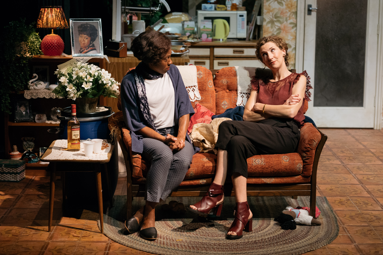 Natasha Gordon and Hattie Ladbury in Nine Night (c) Helen Murray