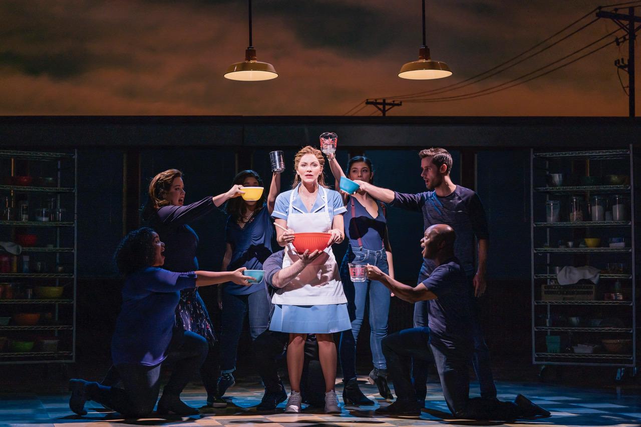 Waitress Adelphi Theatre - Katharine McPhee (Jenna) [Photographer Johan Persson]