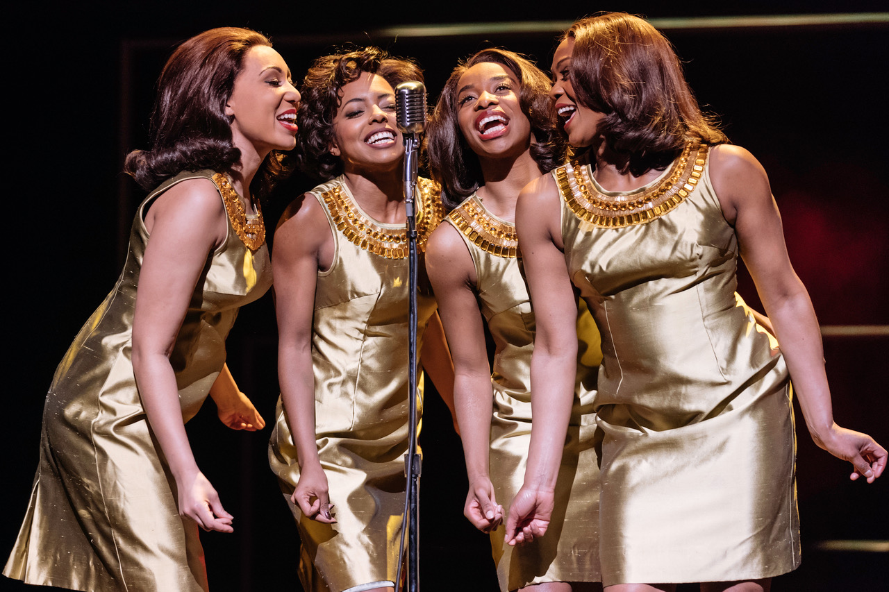 l-r Hannah Jay-Allan, Adrienne Warren, Perola Congo and Sia Kiwa (Tina and the Ikettes). Photo by Manuel Harlan