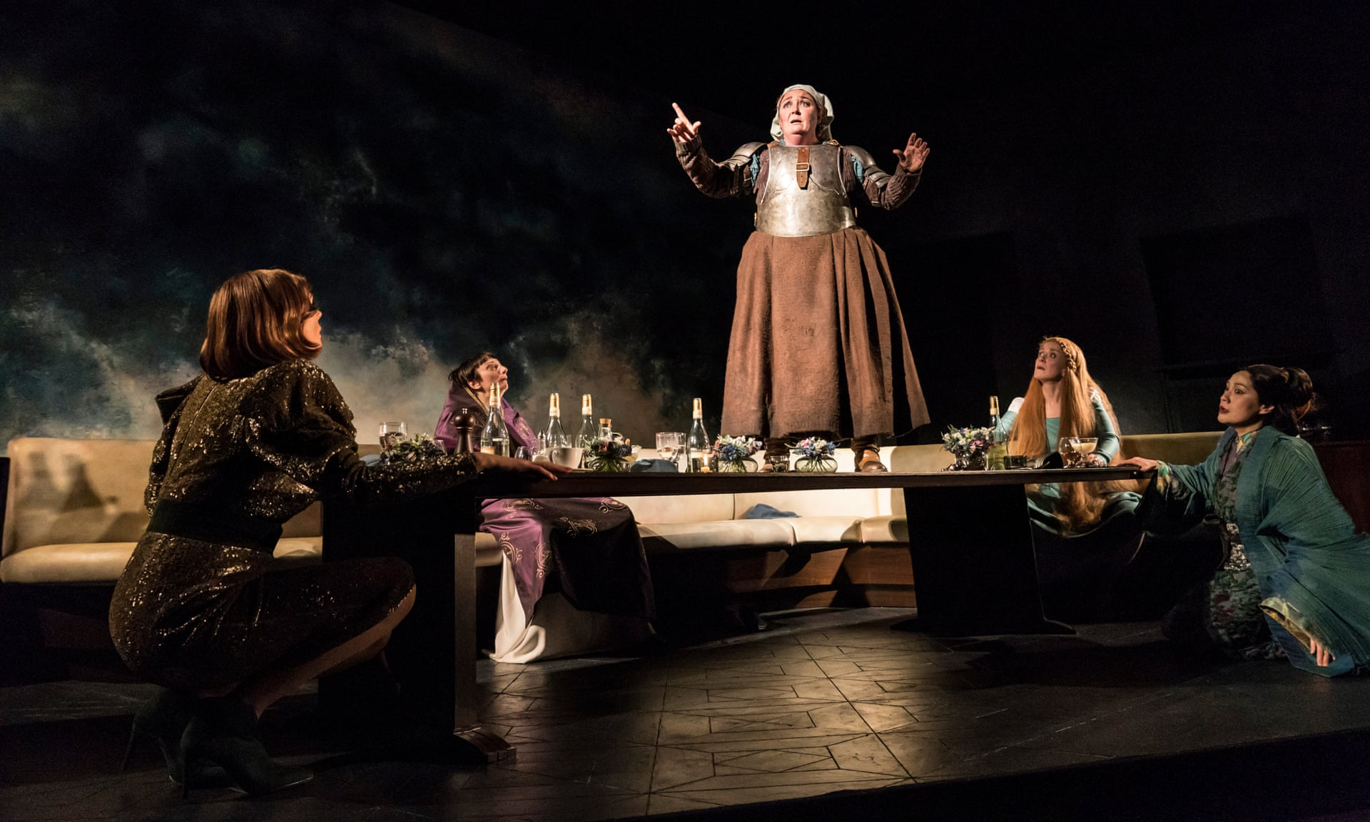 Ashley McGuire in Top Girls by Caryl Churchill, Lyttleton, National Theatre Photograph: Johan Persson