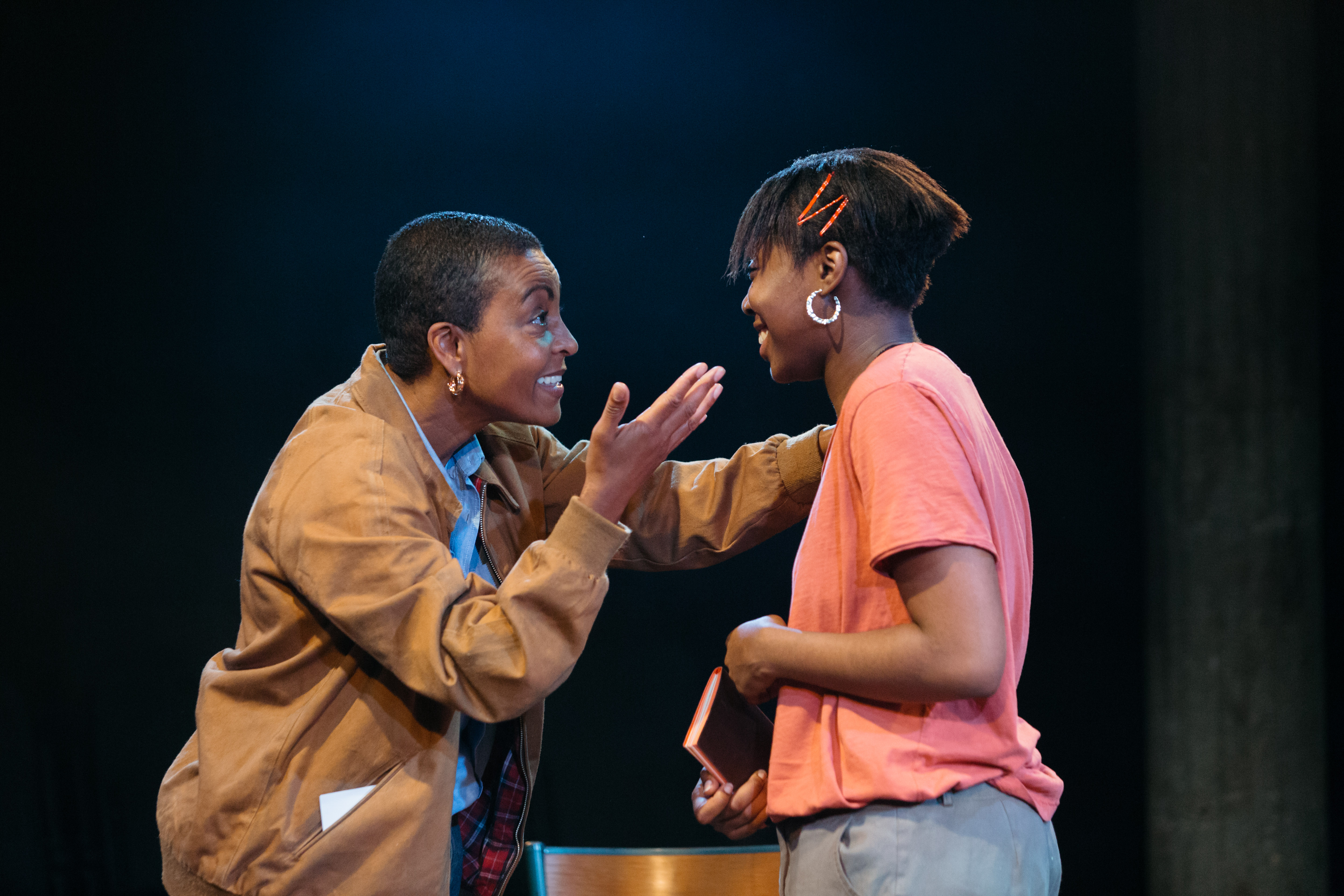Adjoa Andoh and Seraphina Beh in Leave Taking at the Bush Theatre © Helen Murray