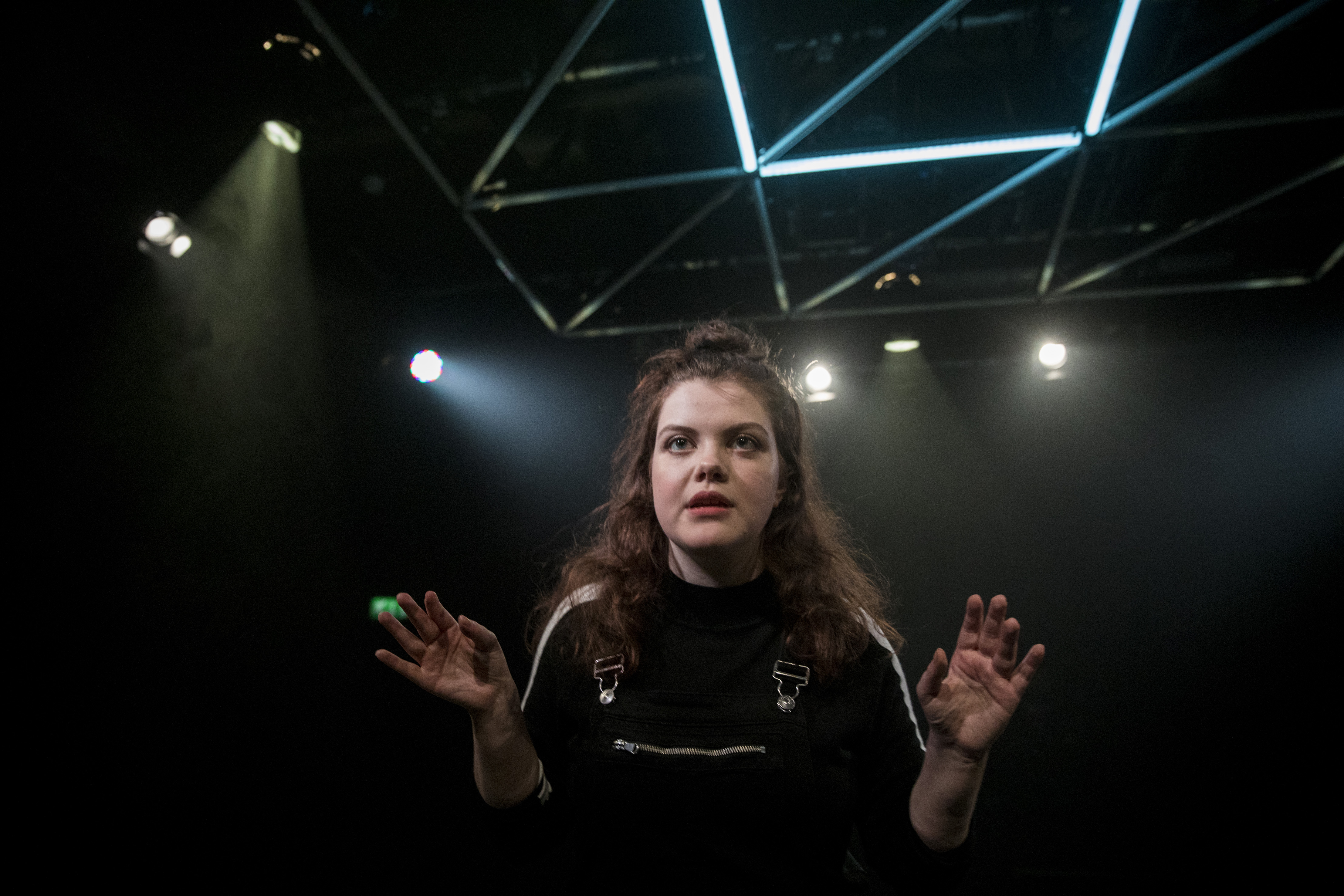 Angry - Him - Georgie Henley - photocredit, Matt Martin Photography