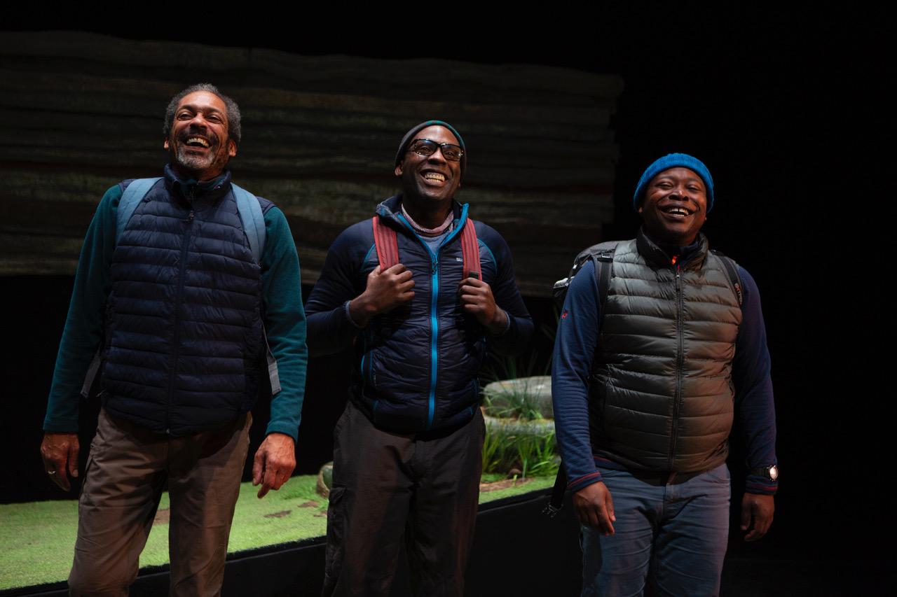 Black Men Walking, Bernie Grant Arts Centre. Photo: by Ellie Kurtt