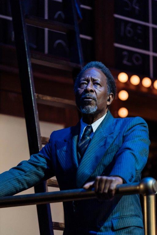 Clarke Peters, The American Clock by Arhur Miller, The Old Vic