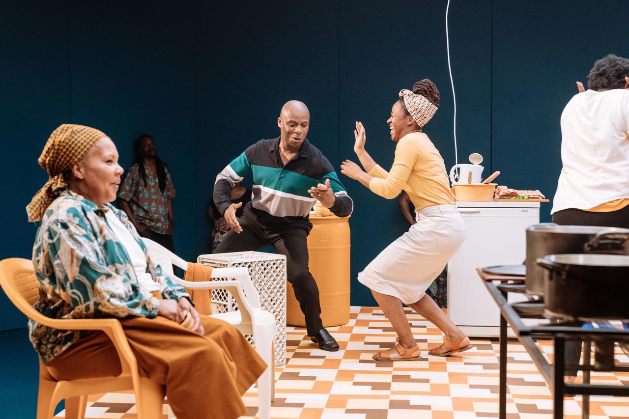 Cleo Sylvestre, Derek Ezenagu and Laurietta Essien in generations at Chichester Festival Theatre - Photo Manuel Harlan