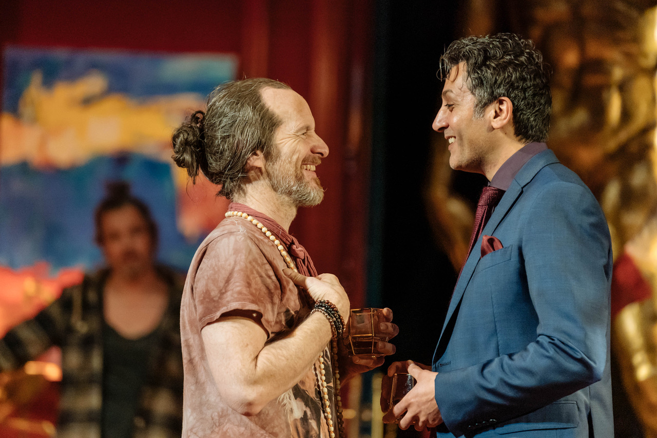 Denis O'Hare, Hari Dillon in Tartuffe by Molière in a new version by John Donnelly. [Image by Manuel Harlan]