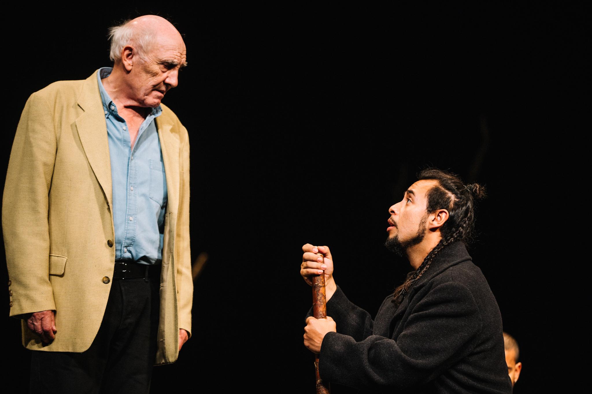 Donald Sumpter and Omar Silva in The Prisoner © Ryan Buchanan
