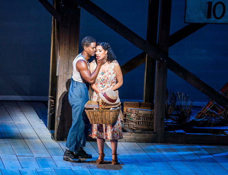 ENO Porgy and Bess Nmon Ford Nicole Cabell, English National Opera (c) Photo by Tristram Kenton