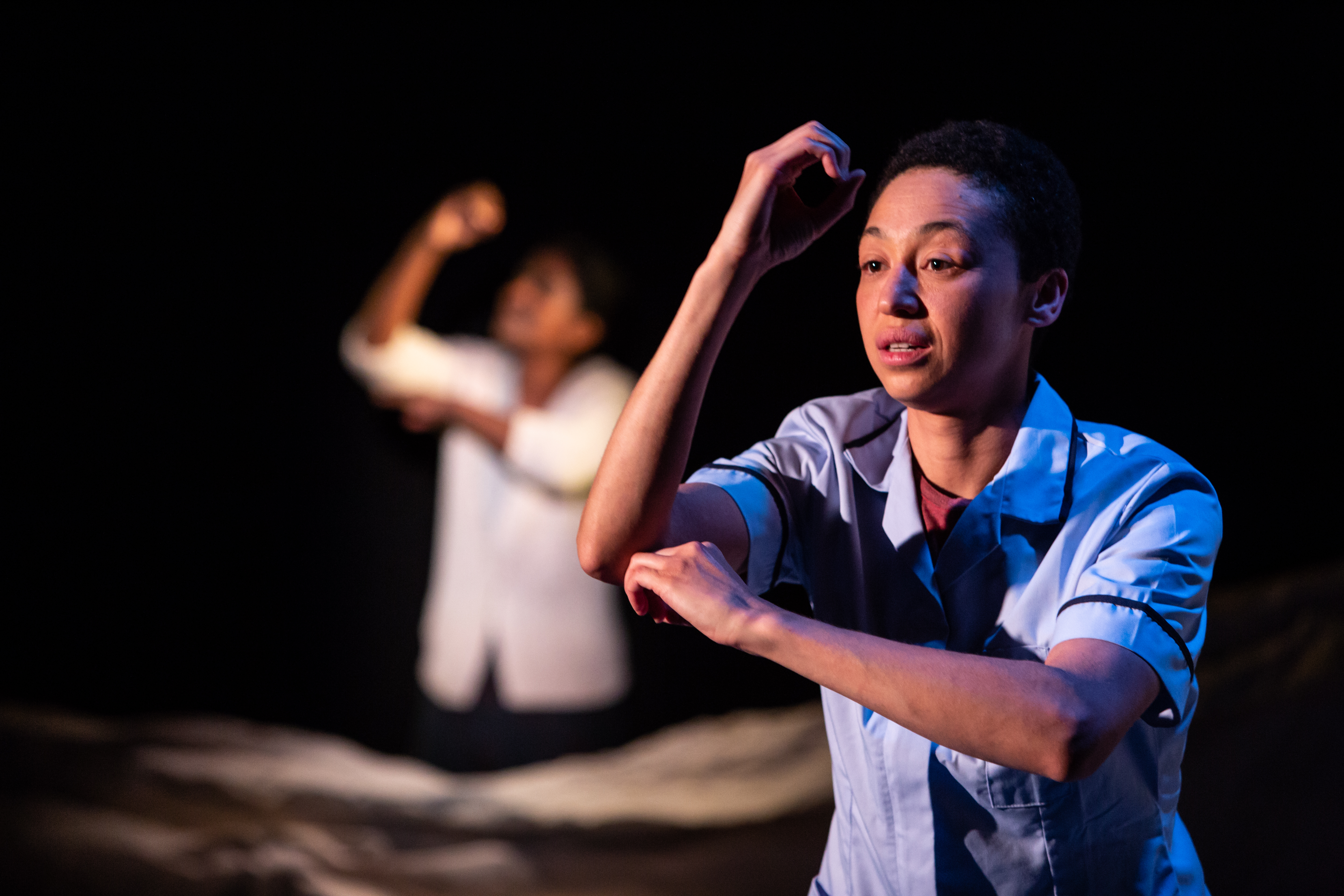 Going Through Production Photos - Charmaine Wombwell - Photos by Ali Wright