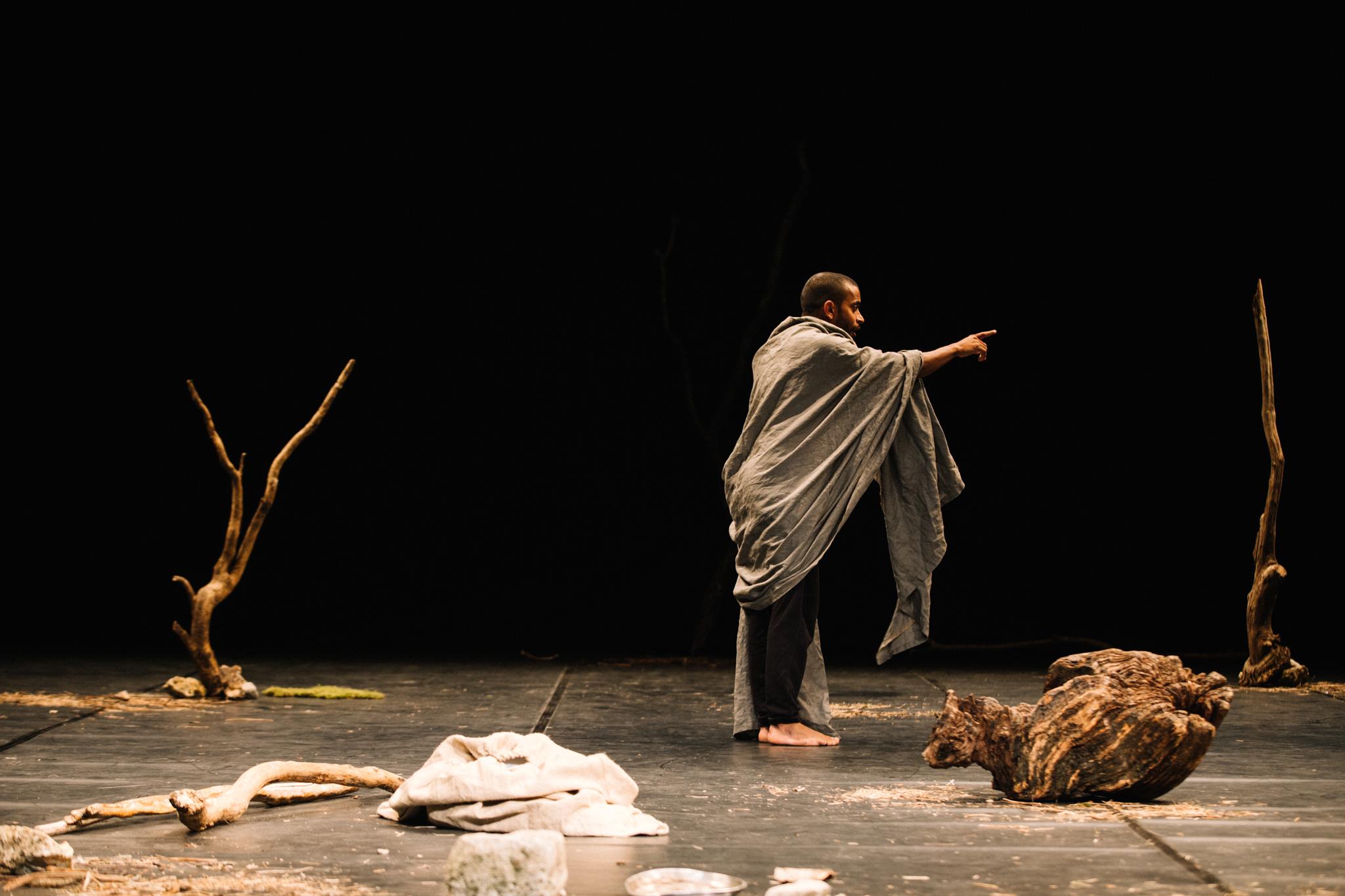 Hiran Abeysekera in The Prisoner © Ryan Buchanan
