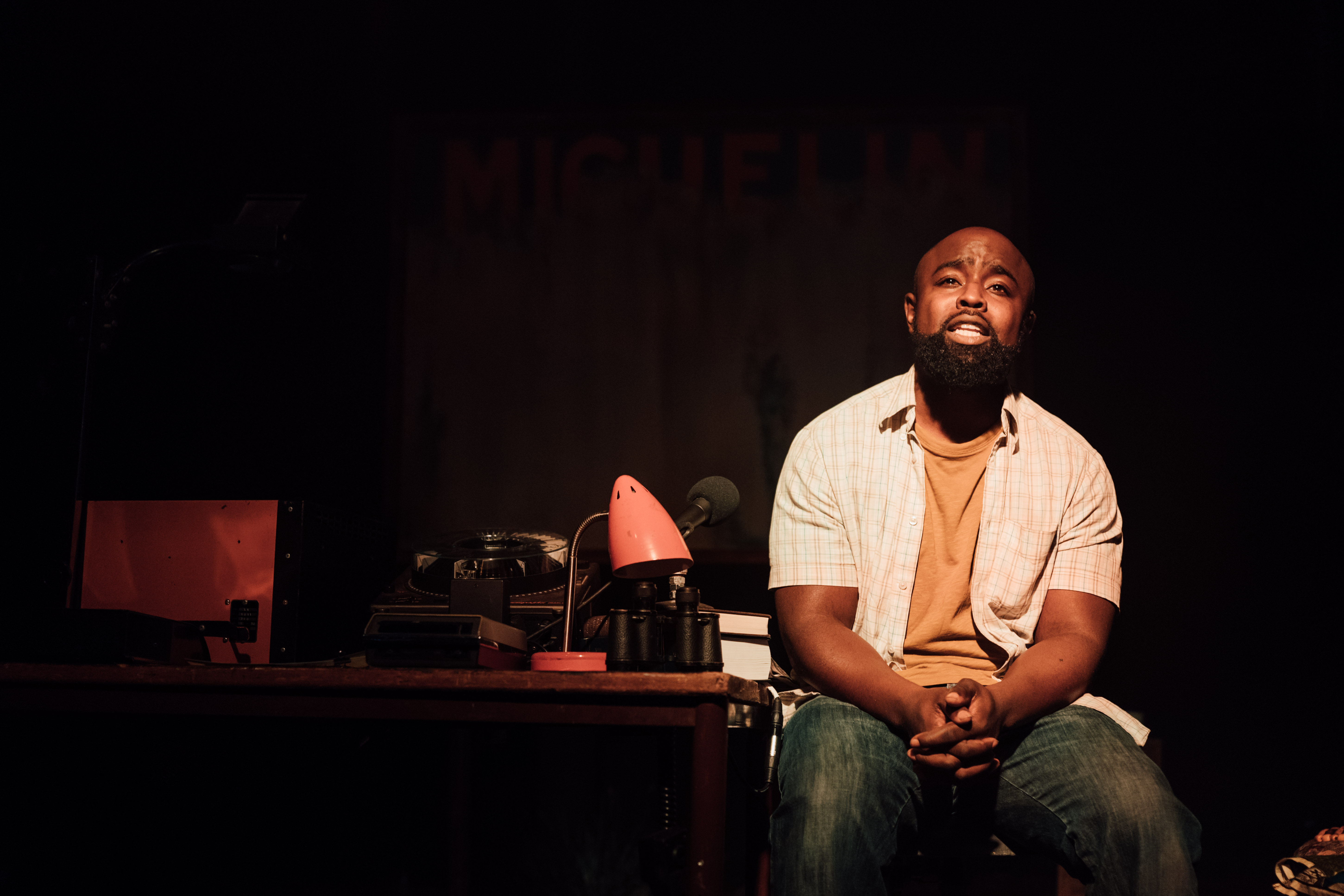 The Dark by Nick Makoha, Ovalhouse Theatre [Photo Credit - Helen Murray]
