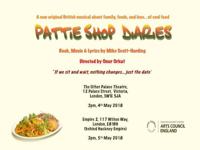 Pattie-Shop diaries workshops 2018