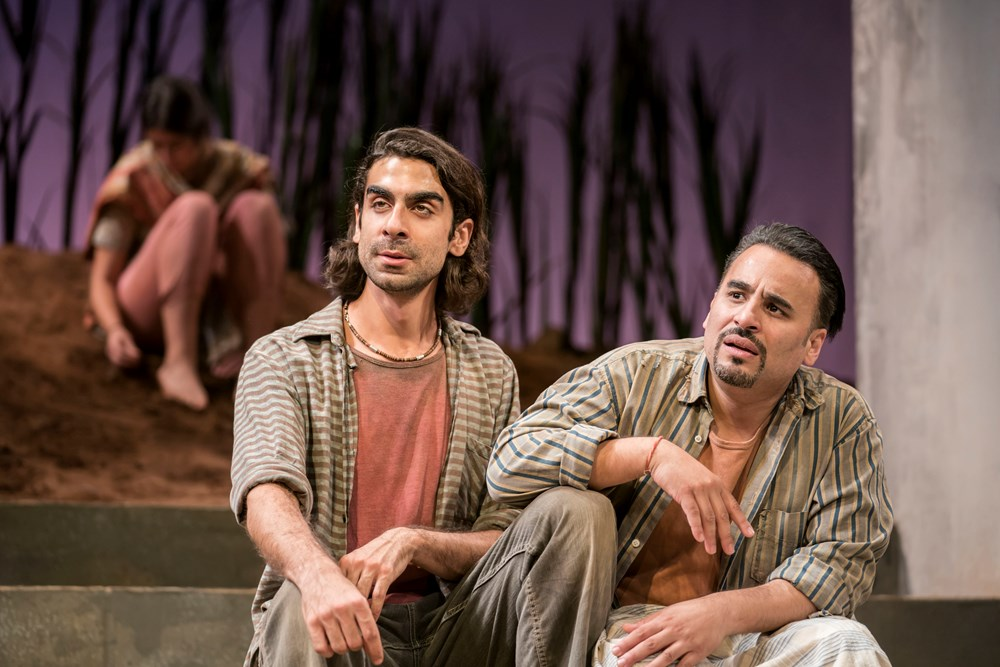 The Comapany of The Village Theatre Royal Stratford East [Photo credits Johan Persson]