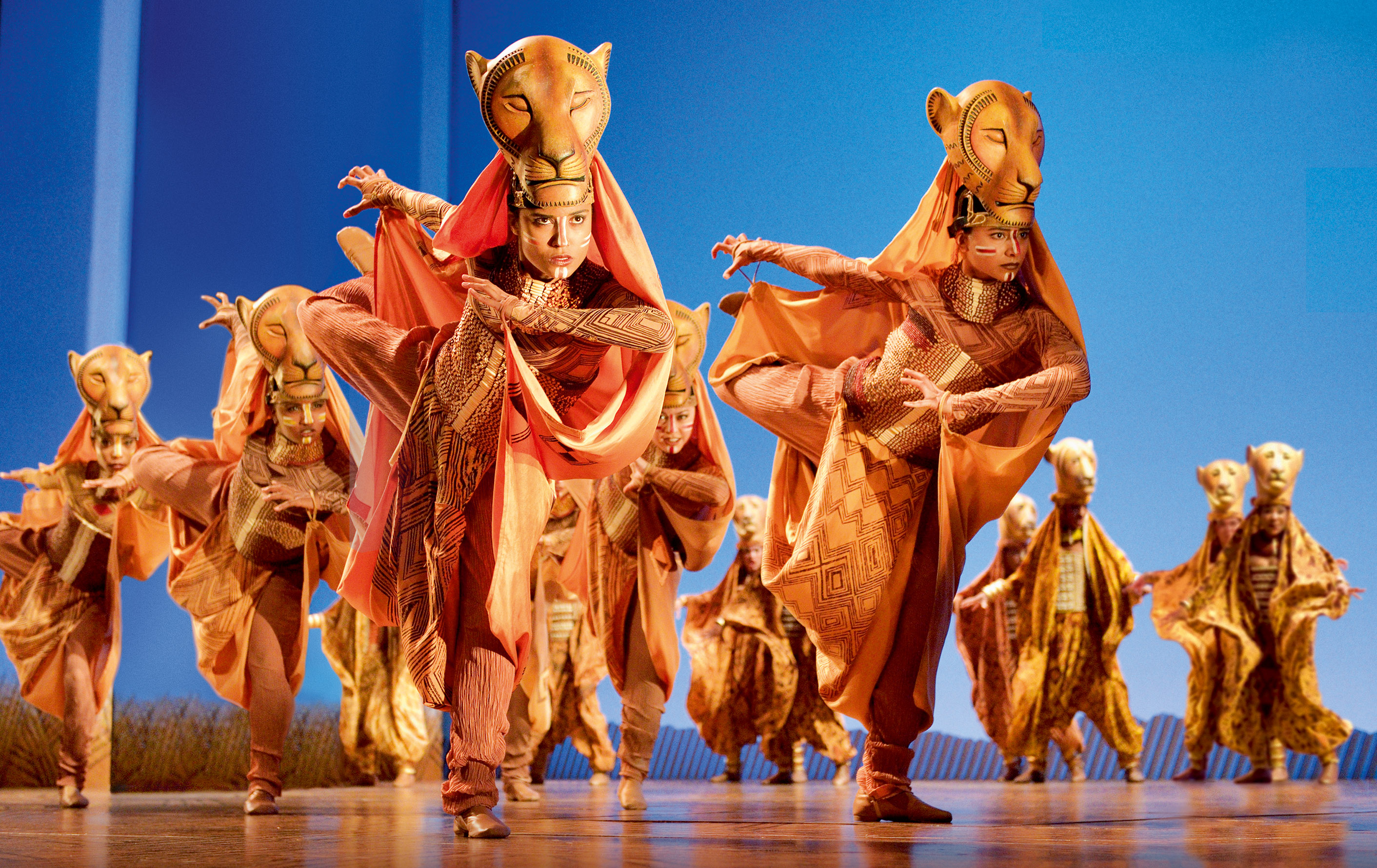Disney's The Lion King at the Lyceum Theatre. Photo by Deen van Meer
