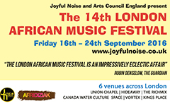 14th London African Music Festival