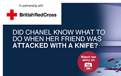 British Red Cross and Art Against Knives join forces to launch #artsforfirstaid campaign