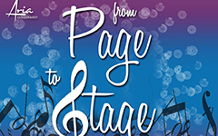 Applications now open for a third From Page to Stage season of new musical theatre