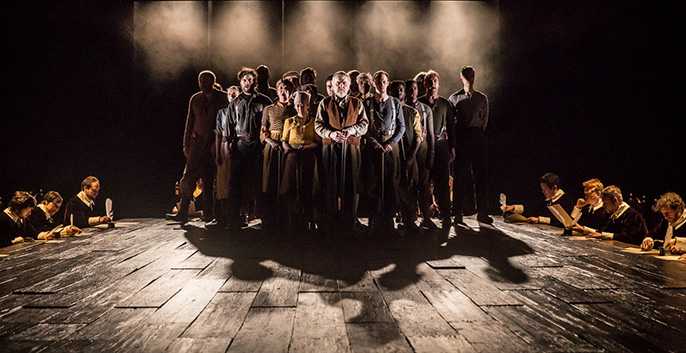 Light Shining in Buckinghamshire, National Theatre - The Company © Marc Brenner