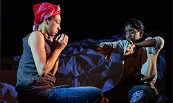 Going Through by Estelle Savasta   – review Bush Theatre