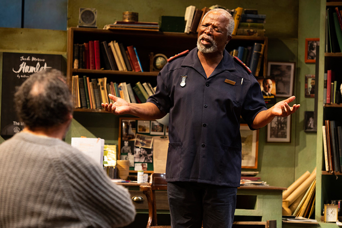 John Kani and Antony Sher in Kunene and the King - Photo by Ellie Kurttz (c) RSC