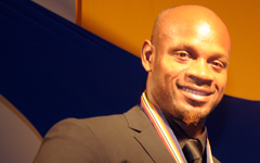 Asafa Powell and Diana Award