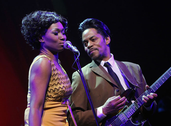 Emi Wokoma (Tina Turner) and Chris Tummings (Ike Turner) Soul Sister