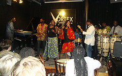 Funmi Olawumi at the Vortex Jazz Club
