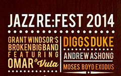 Jazz re:fest 2014 - this Saturday (Carnival weekend)