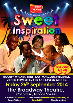 Sweet Inspiration at Broadway Theatre, Catford