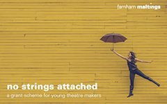 no strings attached: applications now open