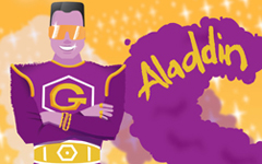 Aladdin at the Lyric, Hammersmith