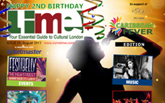 Lime's second annual Caribbean Fever issue out now - Aug 2011