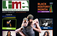 Lime Black History Month cover - October 2011