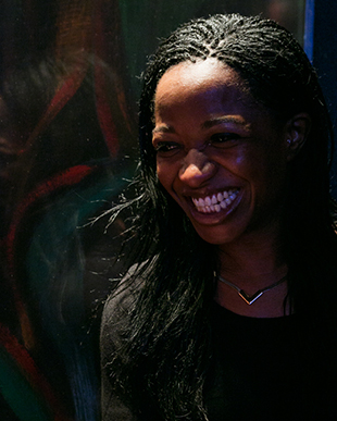 Diana Nneka Atuona winner of the 2013 Alfred Fagon Award © Amy Dang, Afridiziak Theatre News
