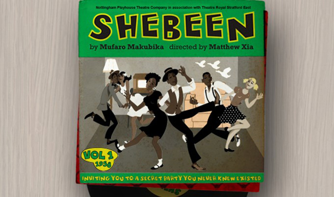 Shebeen by Mufaro Makubika, Theatre Royal Stratford East