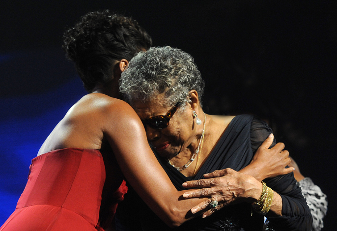FLOTUS Michelle Obama introduces Dr Maya Angelou at BET Honors 2012