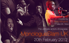 Monologue Slam February Poster