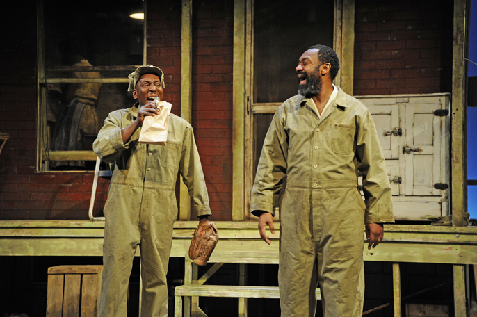 Fences with Colin mcfarlane and Lenny Henry
