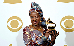 Angélique Kidjo dedicates her Grammy win to the 'Women of Africa'
