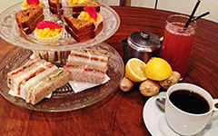 Caribbean Afternoon Tea at Pot and Grill