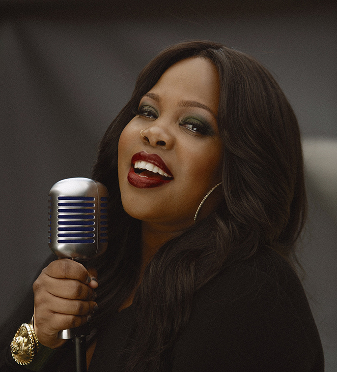 Dreamgirls Amber Riley Photo credit Blair Caldwell