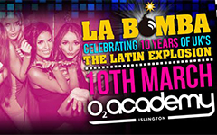 Win a pair of tickets to La Bomba's 10th anniversary