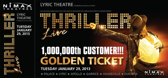 Thriller Live 1,000,000th customer