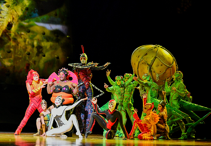 OVO, Cirque du Soleil – Royal Albert Hall
